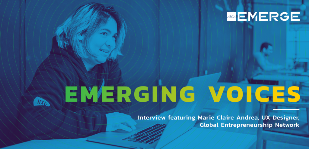 Emerging Voices: Marie Claire Andrea
