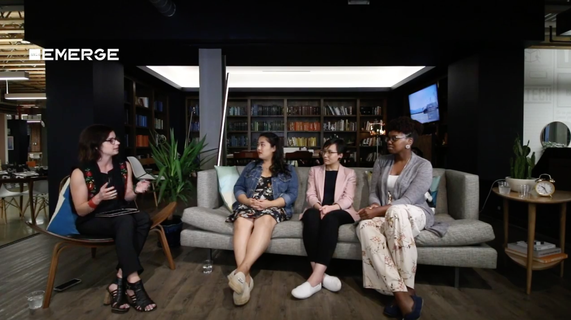 EMERGE #AMA interview Facebook Live by AIGA DC